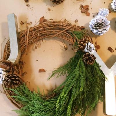Bring Joy to the Season with a DIY Christmas Wreath