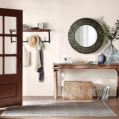 Style an entryway - The Home Depot