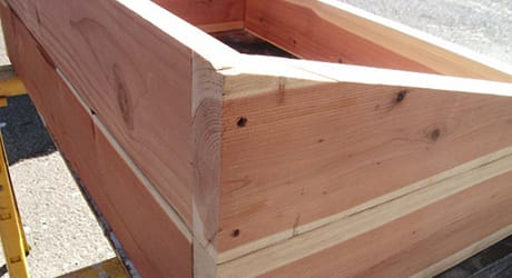 Cut Wood into Wedges