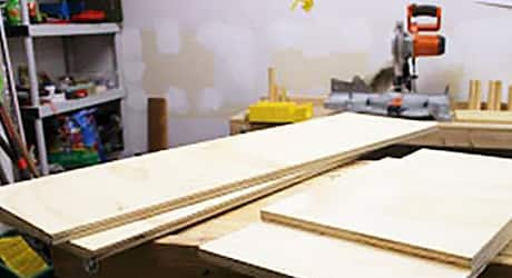Make plywood cuts - How Build Shoe Rack