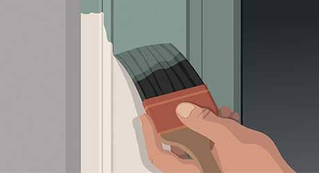 Paint face window casing - Paint Exterior Windows