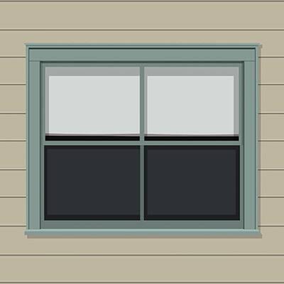 Paint Exterior Windows