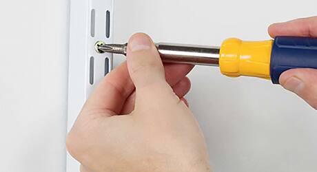 Mount the brackets - Installing Adjustable Brackets