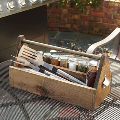 Make a DIY Grilling Caddy