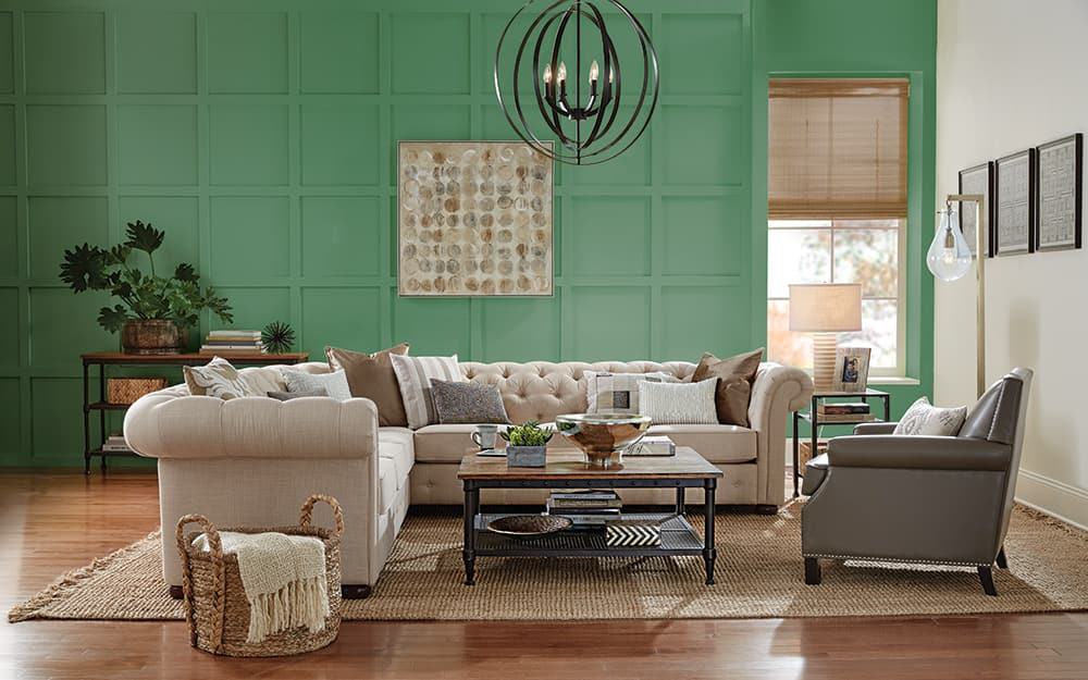 Accent Wall Ideas The Home Depot, Accent Wall Living Room