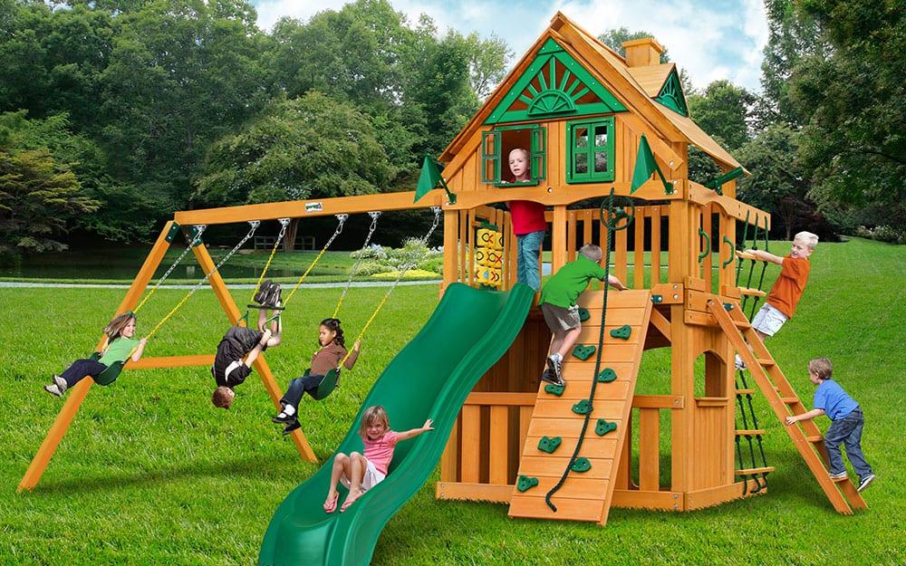 Backyard Ideas For Kids The Home Depot