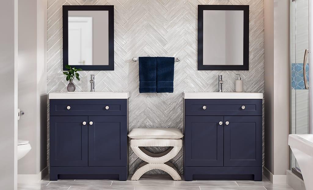 Bathroom Vanity Ideas The Home Depot, Bathroom Cabinet Ideas