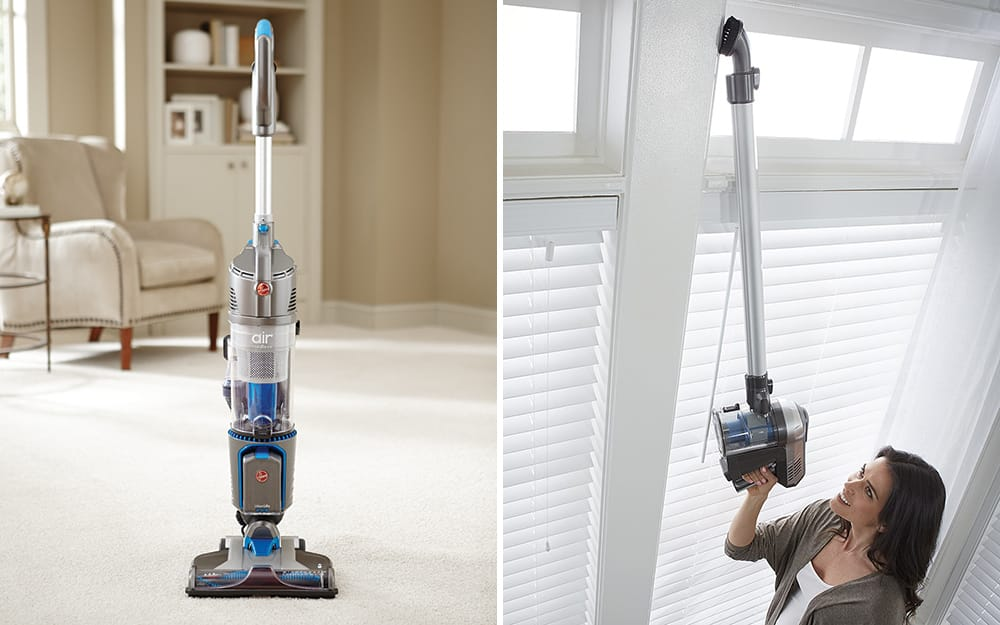 A side by side of two cordless vacuum options