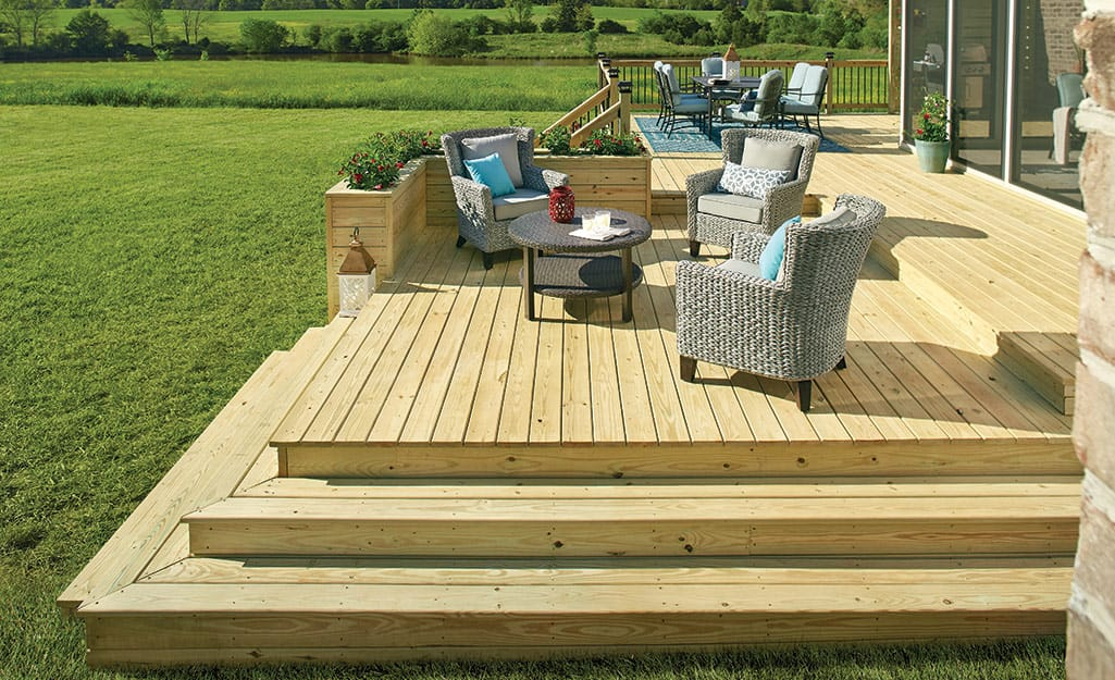 Best Decking Materials For Your Yard The Home Depot