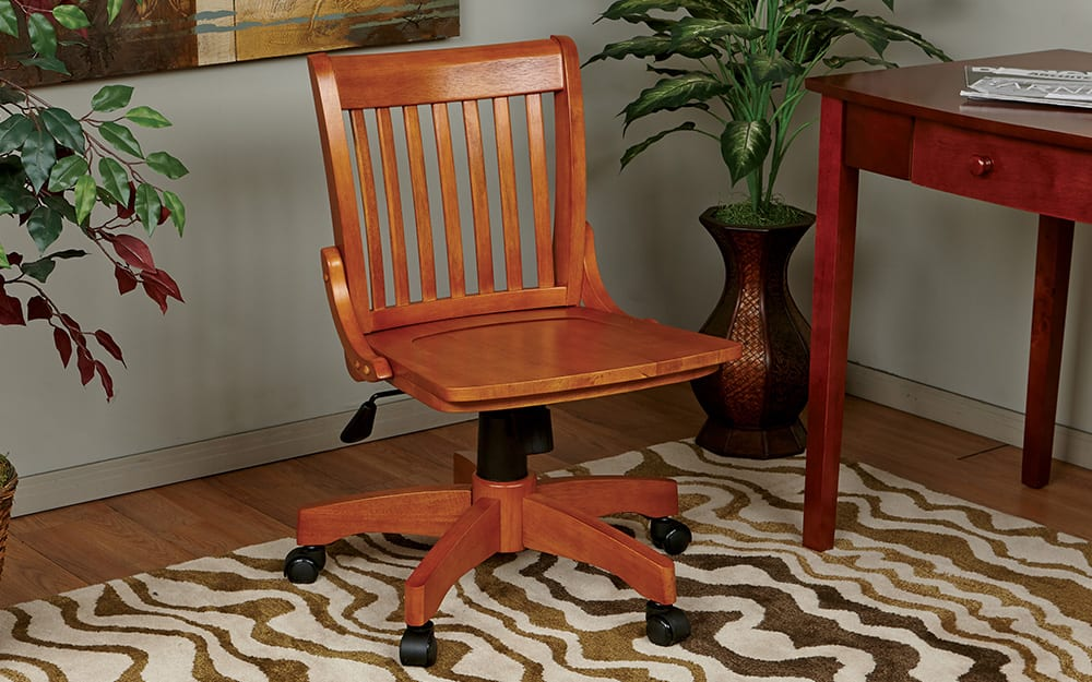 a bankers chair