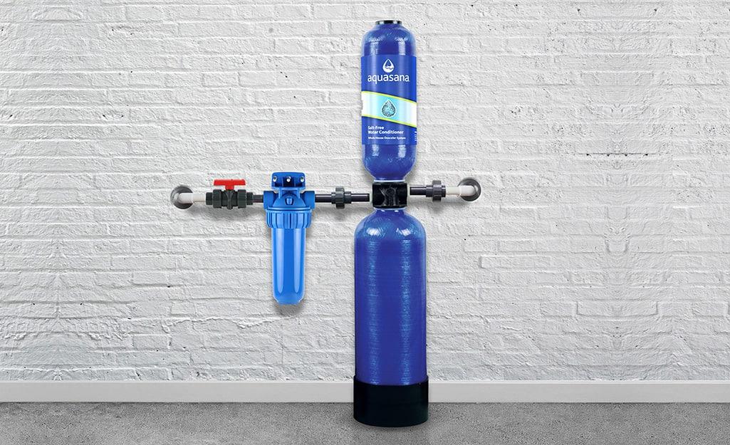 A salt-free water softener.