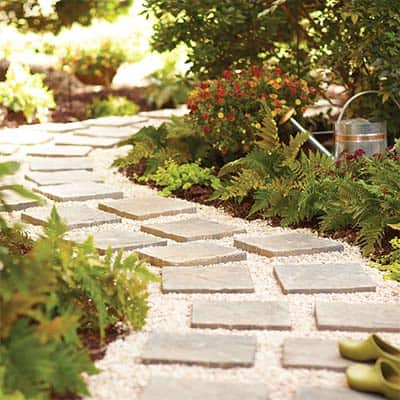 Build a Paver Path