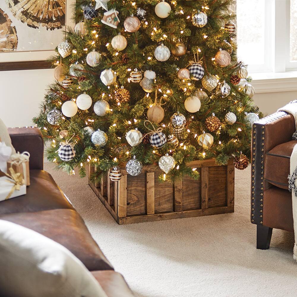 Christmas Tree Holder personalised Christmas tree holder simple Christmas decor