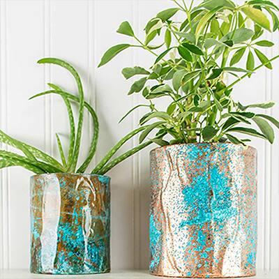 Create Chemistry: DIY Copper Patina Pots