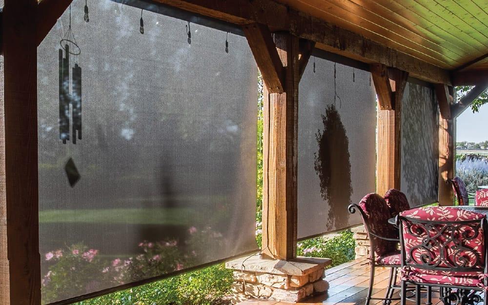 Deck Shade Ideas The Home Depot, Outdoor Deck Shades