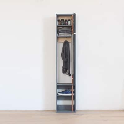 DIY Standing Mirror Cabinet