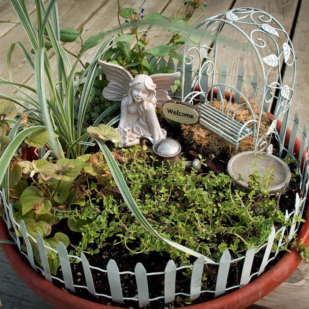 Fairy House DIY Fairy Garden Kit, Fairy Terrariums Fairy Garden Kit