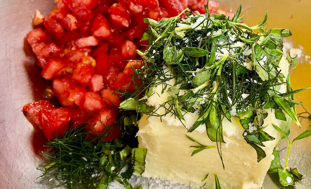 Charred Tomato Herb Butter Recipe
