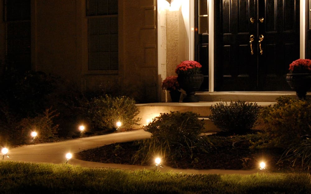 how many lumens are needed for outdoor