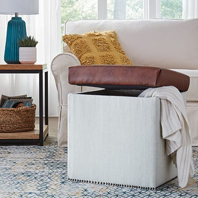 Build a Wooden Crate Storage Ottoman