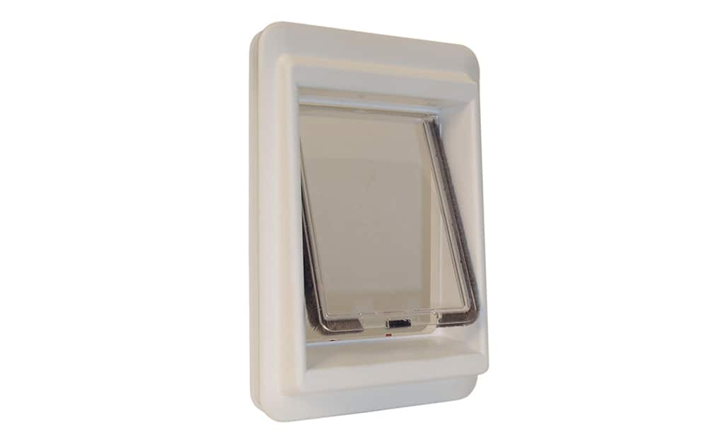 The microchip reader variety of cat door.