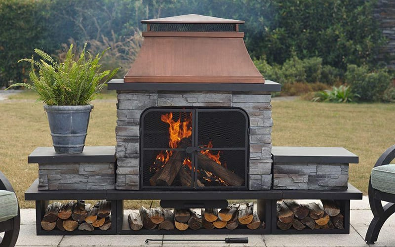 How To Choose An Outdoor Fireplace, Do You Need A Permit For Outdoor Fireplace