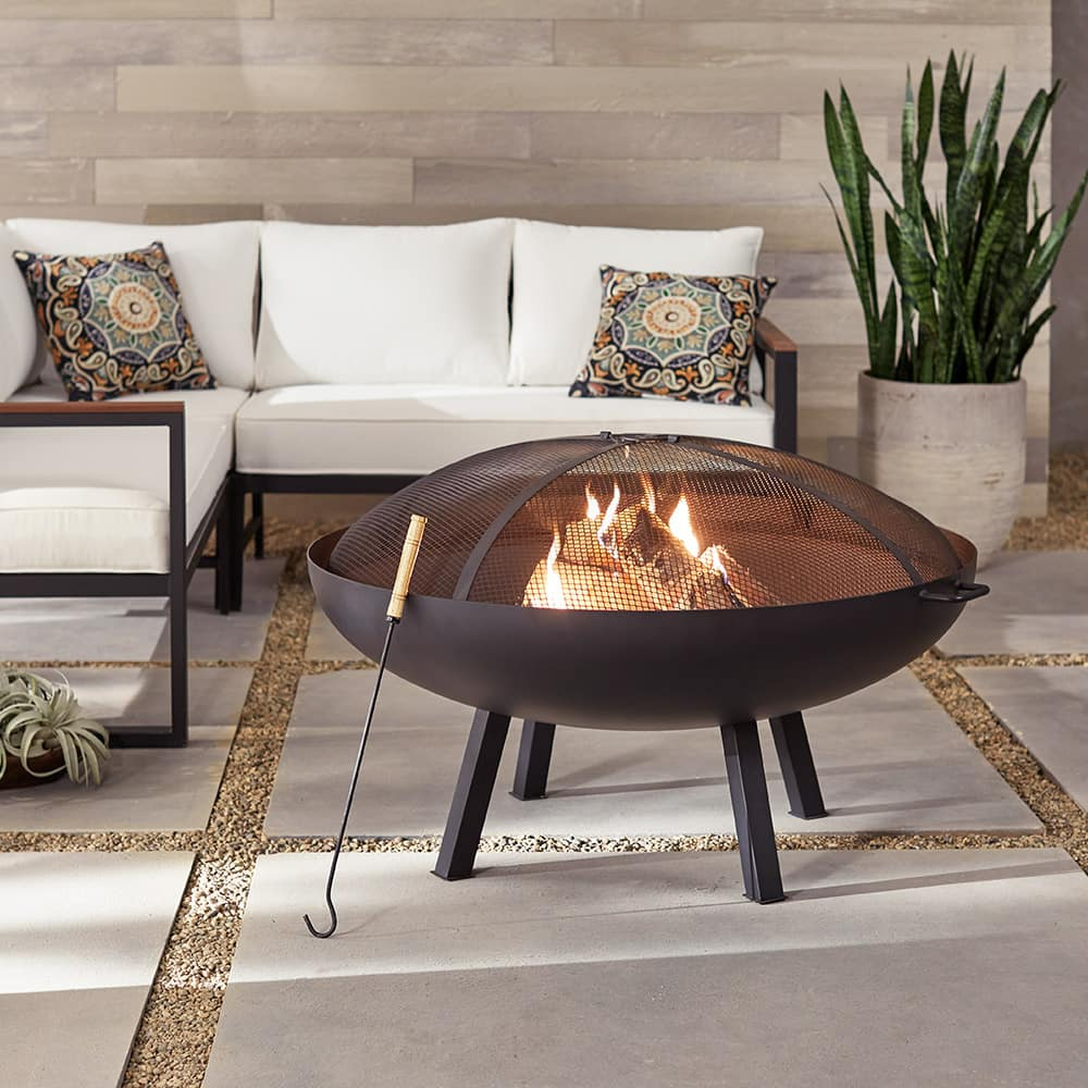 How To Clean A Fire Pit The Home Depot