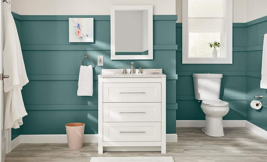 How To Install A Bathroom Mirror The, How To Attach A Mirror Bathroom Wall