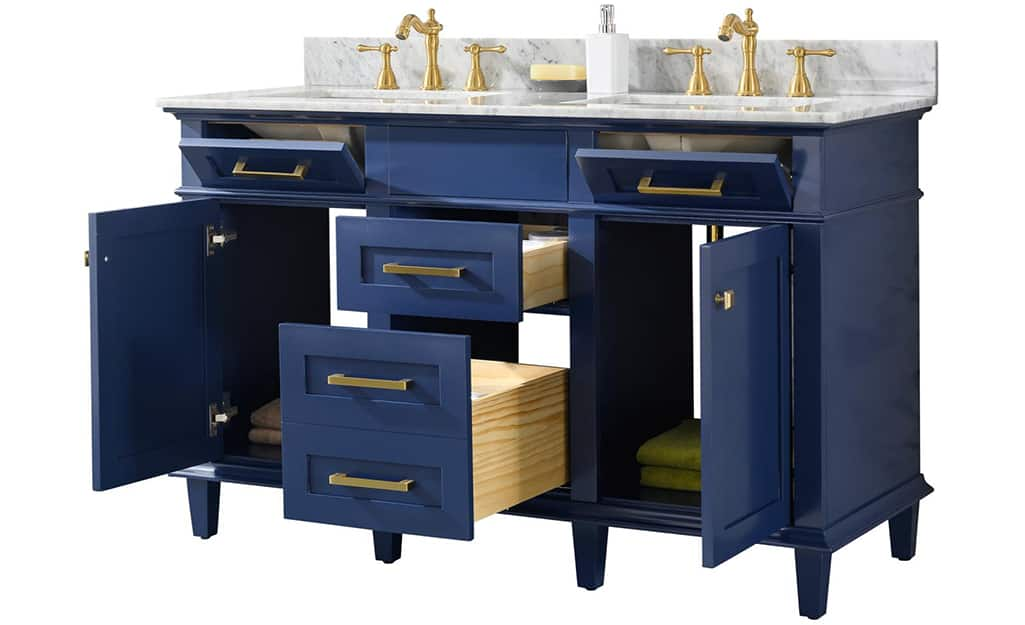 How To Install A Bathroom Vanity The Home Depot