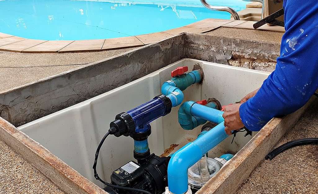 How To Install A Pool Pump The Home Depot