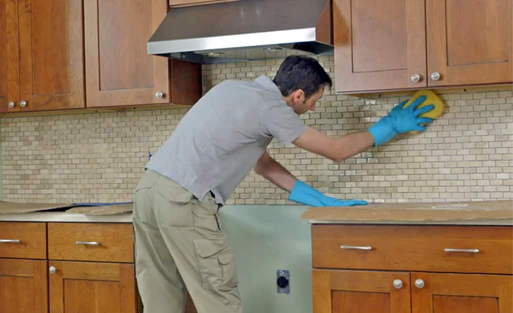 How To Install A Tile Backsplash The Home Depot