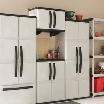Installing HDX Plastic Cabinets and Shelves