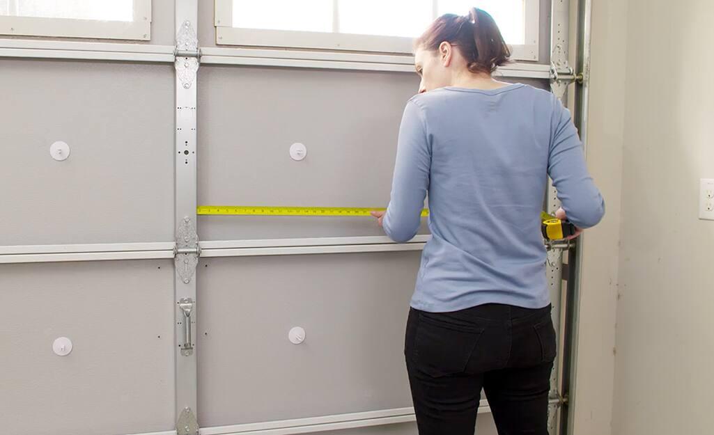 How To Insulate Garage Doors The Home, How To Weatherproof A Garage Door