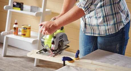 Cut pieces box - Make Wood Stocking Door Hanger