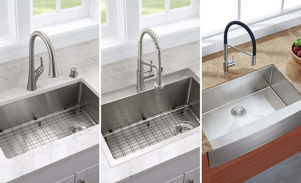 How To Measure A Kitchen Sink The Home Depot
