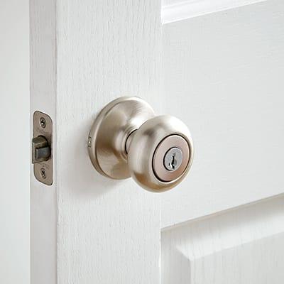 Types Of Door Locks The Home Depot