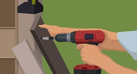 Plumb brace fence - Repairing  Maintaining Fences and Gates