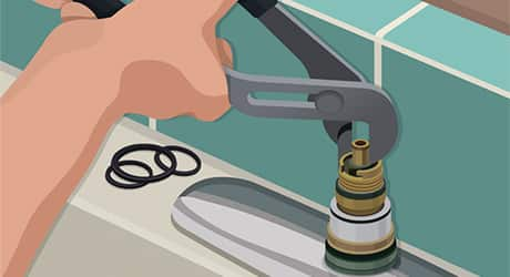 Replace the cartridge - How Replace Cartridge Sink Faucets