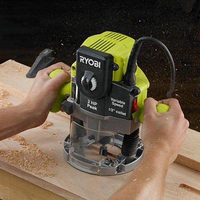 Wood Router - Select Wood Router Tool