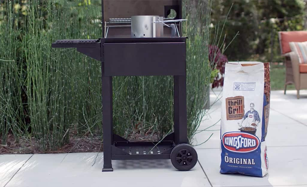 How To Use A Charcoal Grill The Home Depot