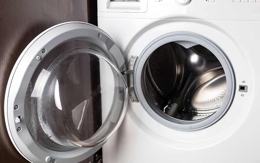 An empty dryer.