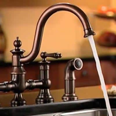 Kitchen Faucet and Side Sprayer