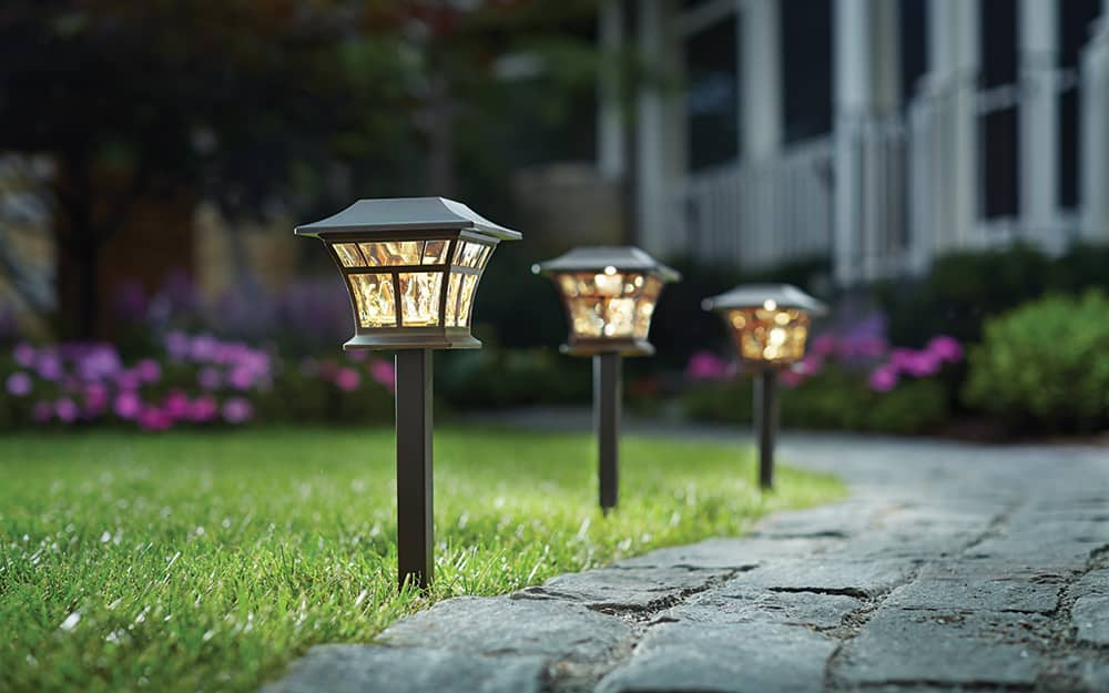 Landscape Lighting Ideas For Your Front, Outdoor Path Lights Hardwired