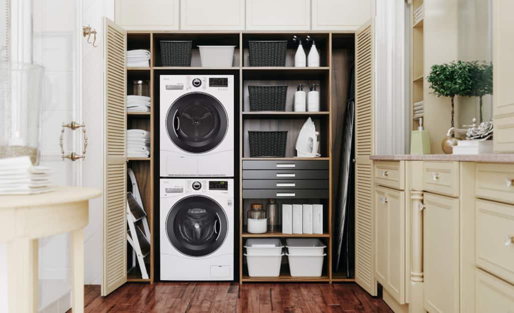 Laundry Room Storage And Shelving Ideas, Laundry Room Storage Shelves