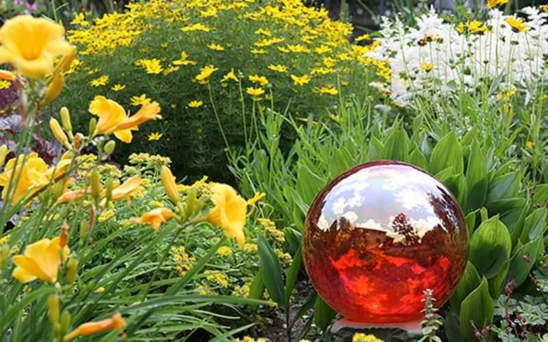 Decorating the Garden