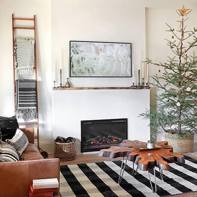 Minimalist Electric Fireplace