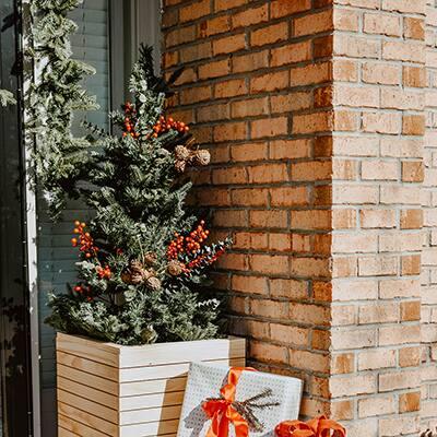Modern Christmas Tree Planter