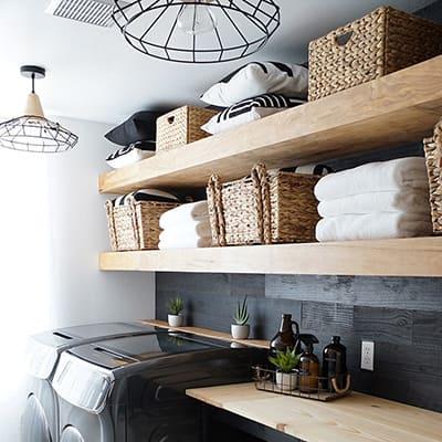 Samsung Flexwash/Flexdry Inspired Laundry Room Makeover