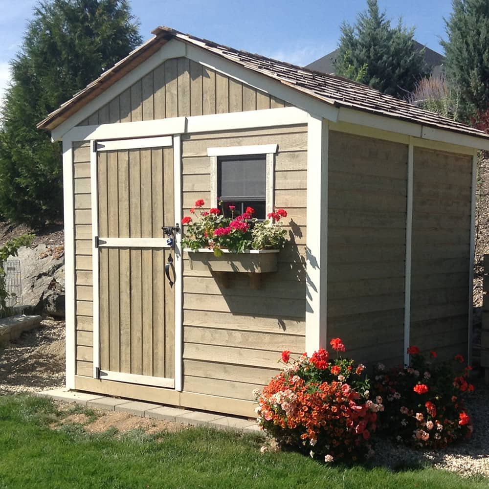 Shed Storage Ideas For Your Garden, How To Hang Things In A Garden Shed