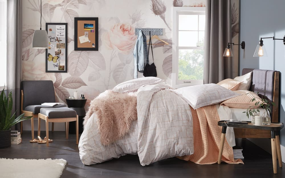11 Simple Small Bedroom Ideas The Home Depot